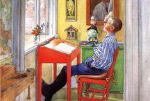 Carl Larsson / Carl Larsson (May 28, 1853 – January 22, 1919)
