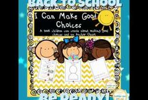 Back to School / Letters from teachers/get to know you activities