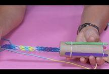 sznur na tubie papierowej