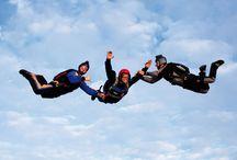 Saut d'initiation PAC / Les sauts d'initiation PAC sont des stages courts qui sont comptabilisés dans la formation PAC (Progression Accompagnée en Chute)
