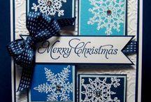 Cards...Christmas...Snowflakes