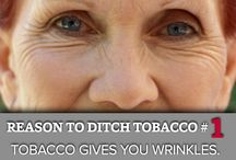 Ditch Tobacco / Why should you ditch tobacco? Not only does it cause lung cancer, but it also has several other unsightly consequences. / by Ohio State University Comprehensive Cancer Center-James Cancer Hospital & Solove Research Institute