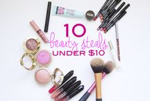 B U D G E T  B E A U T Y. / The best #beauty products for the girl on a #budget