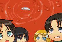 Shingeki No Chibi / The anime Shingeki no kyojin