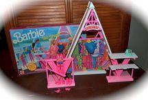 Barbie inventaris / Eens kijken wat we hebben en welke onderdelen er allemaal bij elkaar horen:-)