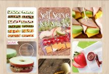 Snacks and Food for the Kiddos / It is so important to feed our children healthy foods! These recipes are delicious and your kids will love them!