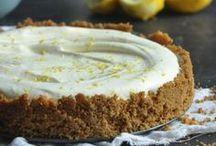 lemon yogurt frige tart
