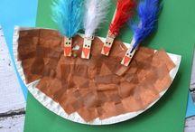 Dia dos Índios na Educação Infantil / Atividades para o dia dos Índios.