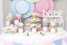 A&K Lolly Buffet {Cute as a Button Pastel Baby Shower Dessert Table} / http://aandklollybuffet.com/2013/12/28/pastel-cute-as-a-button-baby-shower-dessert-buffet/