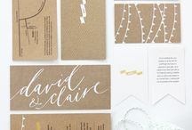 Wedding – Invitations / by Shannon Richert-Constance