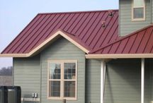 House Exterior Colors Red Roof