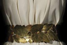 Moodbord antiquité / Le prêt à porter féminin durant l'Antiquité