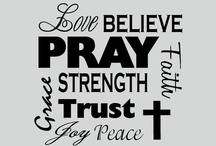 FAITH / THIS is me, THIS is who I am, THIS helps to keep me on the right path and is my protection.