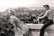 Elvis & Marylin / Photos d'Elvis Presley et de Marylin Monroe