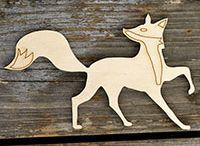 laser cut wooden shapes