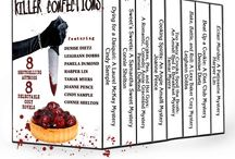 Killer Confections / The limited-edition culinary cozy mystery bundle featuring Denise Dietz, Leighann Dobbs, Pamela DuMond, Harper Lin, Tamar Myers, Joanne Pence, Cindy Sample, and Connie Shelton.  Other novels you need to check out from the participating authors.