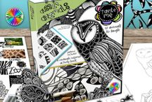 Zentangle Art Ideas / Zentangle-inspired art, books, products, gifts...