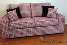 Australian Made Sofa Beds, Sofas and Chairs / Sofa Beds made in Australia. Commercial grade mechanism, choice of mattress, thousands of fabrics to choose from. Can all be customised, or made as standard sofa's.