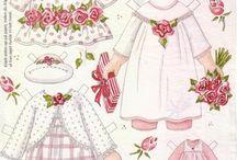 Paper dolls kids
