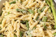 Yummy pasta dishes