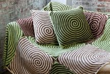 Pillows - Crochetrelated / Crochetwork and patterns I've found online.
