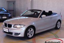 BMW 118 I CABRIOLET FUTURA ANNO 2009 - KM 94.000 - UNICA PROPRIETARIA