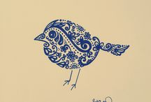 Drawings / Hand made - İllustration - Drawing - Lettering -Typography - Art - Zentangle