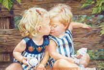Картины Кэтрин Финчер.