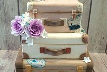 торты - чемоданы