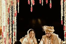Indian Bride Kresha Bajaj stitched her love story on Bridal lehenga