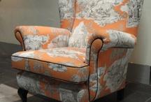 Eigen stoffeer creaties / Oude stoelen ontmoeten een nieuwe stoffering