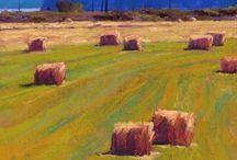 Susan Ogilvie / Characteristic works of Susan Oglivie Pastel and Plein aire artist