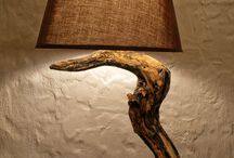 wood lighting