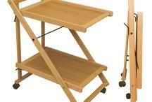 столик на колесах