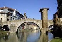 Balmaseda / Fotos de mi pueblo, con nieve, sin nieve, el puente viejo... etc