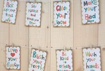 Chore chart ideas / by Christelle Nagel