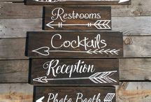 Wedding - Signs, Guestbook, Welcome