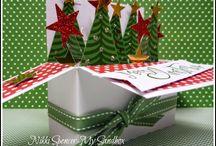 Christmas card popup