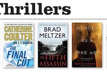 Best Books 2013: Thrillers / by Library Journal
