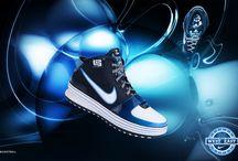 sport shoes ads / adidas, nike, puma , other