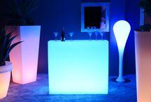 Bar Lumineux à LED multicolores - KruG Square / Bar Lumineux à LED multicolores - KruG Square http://www.livedeco.com/ledcolor-mobilier-lumineux/bar-lumineux/