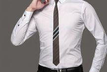 DAS037 / Looks for our Striped Brown Silk Necktie: http://www.mightygoodman.nl/nl/english-fashion-classic-bruine-zijden-stropdas-ges.html