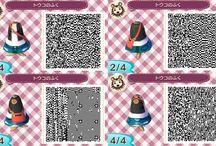 acnl clothes qr codes - dresses