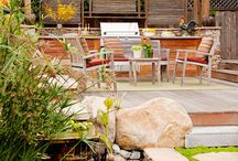 House indoor outdoor