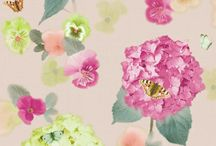 Inject a shot of Spring into your home /  Add that splash of colour to your home with floral wallpapers and wall art
