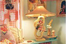 Kitschy bedrooms
