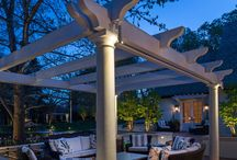 Lighting for Outdoor Living Spaces / Lighting ideas for you outdoor living areas. Extend the time spend outdoors and enhance it's beauty with landscape lighting. With a properly lit outdoor space, people are more likely to spend more time outdoors after its dark. / by McKay Landscape Lighting