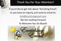Enriching Email / To join RICH as an Affiliate is free of charge!