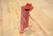 Toilet Paper Roll Crafts! / by Heidi Parker