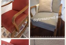 DIY Furniture Upcycled / DIY upcycled furniture - get unique furniture on a budget